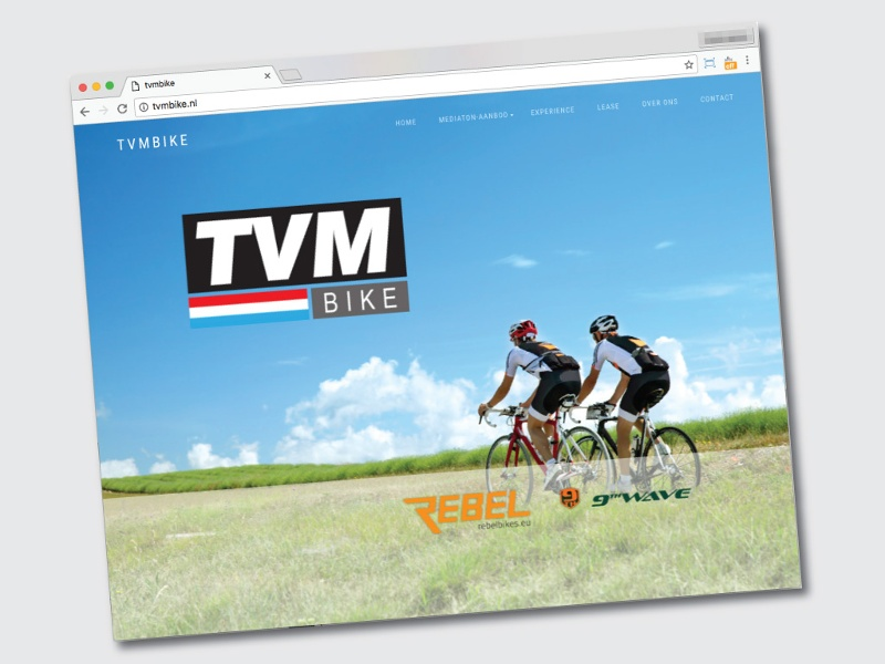 TVM bike website